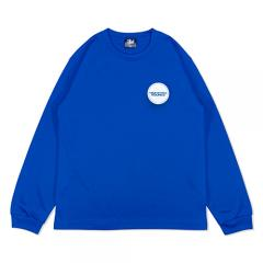 HXB DRY Long Sleeve Tee 【THE CIRCLE】 BLUE×WHITE