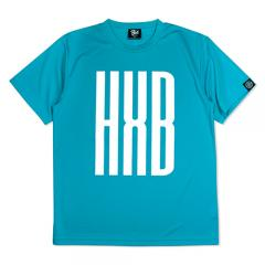 HXB ドライTEE 【SLENDER】 MINT BLUE×WHITE