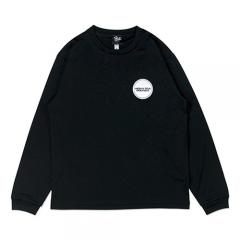 HXB DRY Long Sleeve Tee 【THE CIRCLE】 BLACK×WHITE
