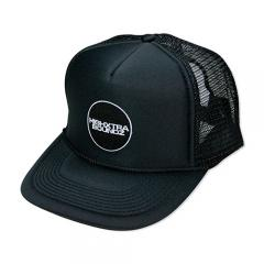 HXB MESH CAP 【THE CIRCLE】 BLACK