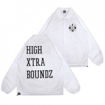 HXB Coach Jkt. 【Xover】 WHITE/BLACK
