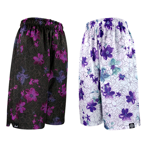 HXB REVERSIBLE MESH PANTS 【DRAW FLOWERS 2nd】