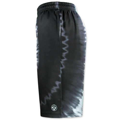 HXB Graphic Mesh Pants【Monochrome Tiedye】