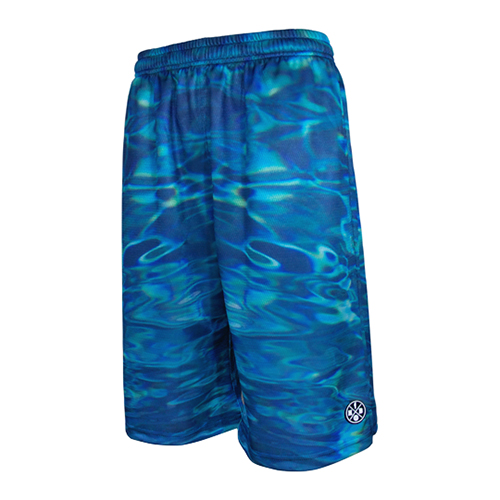 HXB Graphic Mesh Pants 【WATER CAMO】
