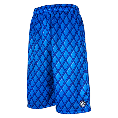 HXB Graphic Mesh Pants 【BRYAN】 BLUE/BLUE