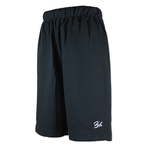 HXB SWEAT SHORTS 【CALLIGRAPHY】 BLACK