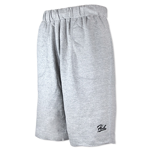 HXB SWEAT SHORTS 【CALLIGRAPHY】 GRAY