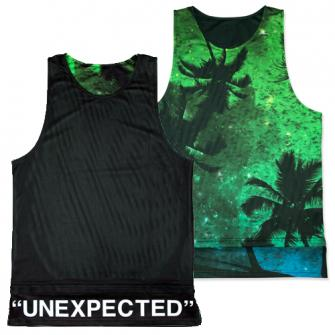 hxalive Reversible Layered Tank【Parm Tree】