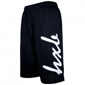 HXB 【EASY MESH SHORTS】 HUGE LOGO Black