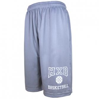 HXB 【EASY MESH SHORTS】 COLLEGE Gray