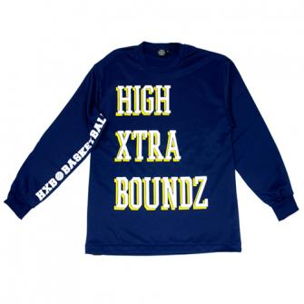 HXB 【HIGH XETRA BOUNDZ LongSleeveTee】 NAVY