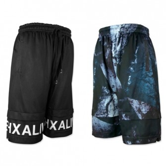 hxalive  Reversible Layered Pants【Frack】