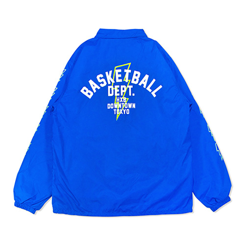HXB Nylon Coach Jkt. 【DEPT.】  BLUE