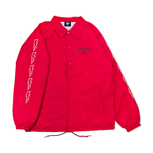 HXB Nylon Coach Jkt. 【DEPT.】  RED