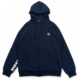 HXB 【SWEAT ZIPUP】 NAVY
