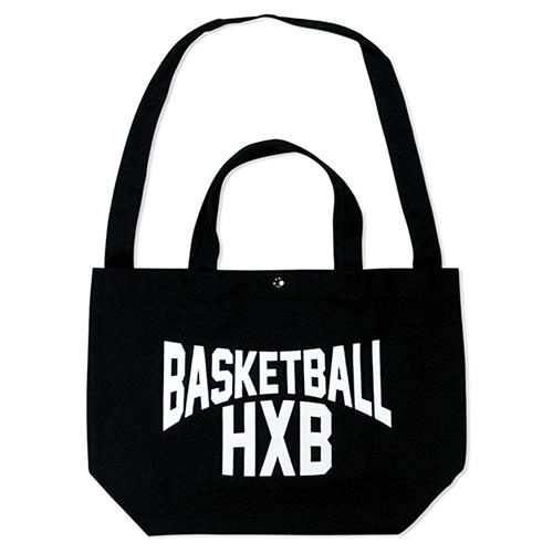 HXB 【2WAY TOTE BAG】 LENON / BLACK×WHITE