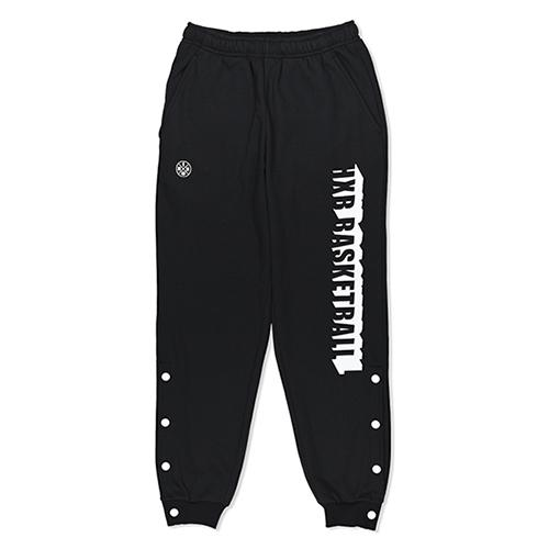 HXB SWEAT PANTS 【BEVEL LOGO】 BLACK