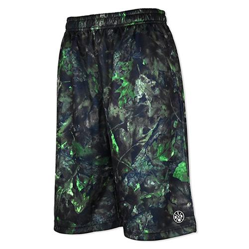 HXB Graphic Mesh Pants 【GREEN WITHERED】