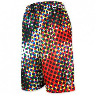 Graphic Mesh Pants 【CMYK DOTS(BIG DOT)】