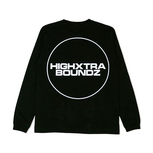 HXB COTTON Long Sleeve Tee 【THE CIRCLE】 BLACK