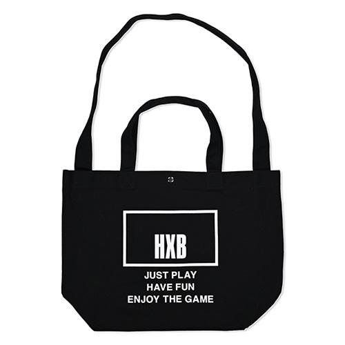 HXB 【2WAY TOTE BAG】 THE BOARD / BLACK×WHITE