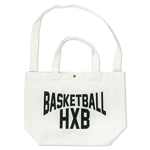 HXB 【2WAY TOTE BAG】 LENON / NATURAL×BLACK