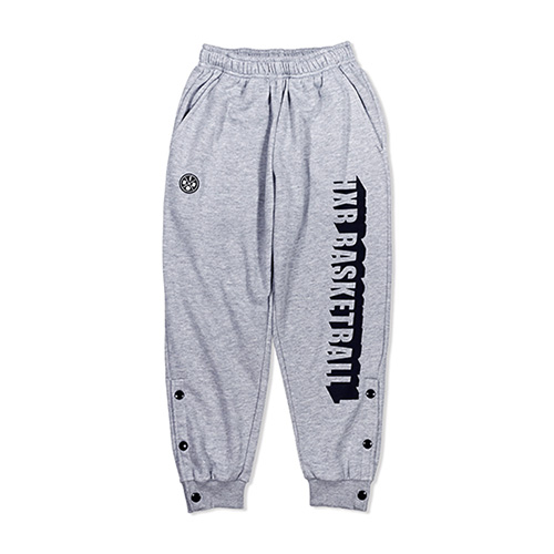 HXB SWEAT PANTS 【BEVEL LOGO】 GRAY (XS)