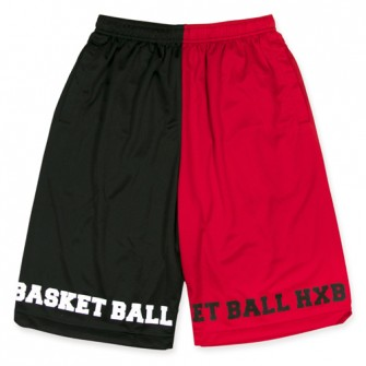 EASY MESH PANTS【Bi-Color】/ RED×BLACK