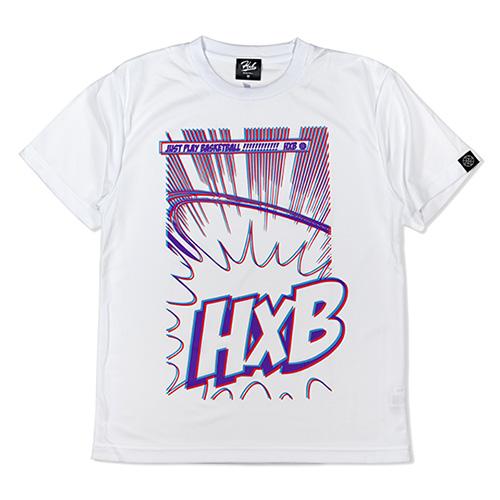 HXB ドライTEE 【JUST】 WHITE