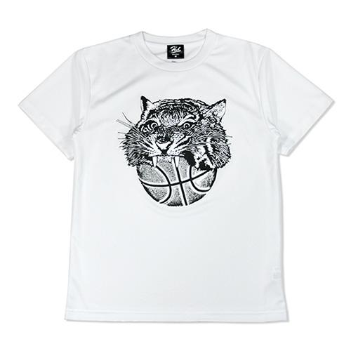 HXB ドライTEE 【TIGER BALL】 WHITE