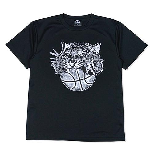 HXB ドライTEE 【TIGER BALL】 BLACK