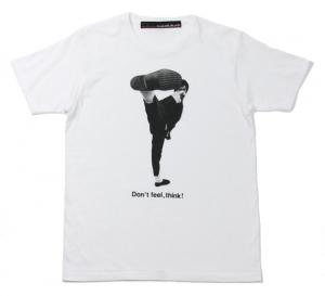 SALE!! HB 【Don't feel, think! T-shirt】 WHITE