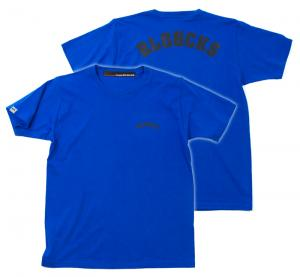 SALE!! HUGEBLOCKS 【BLOOCKS T-shirt】 LOYAL BLUE