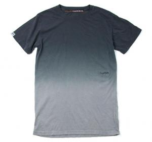 HUGEBLOCKS 【Gradation DYED T-shirt】 BLACK
