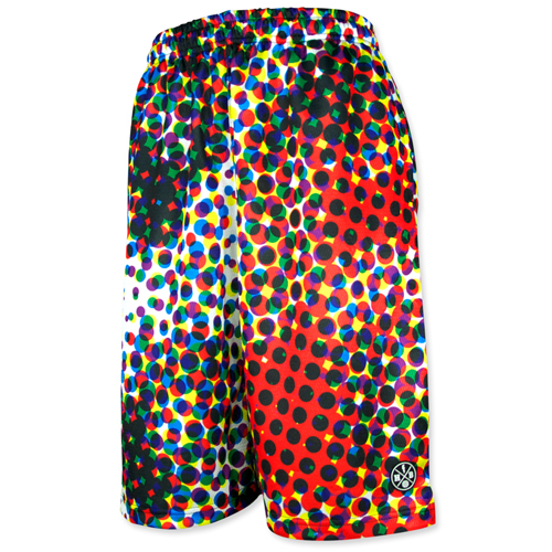 HXB Graphic Mesh Pants 【CMYK DOTS (BIG DOT)】