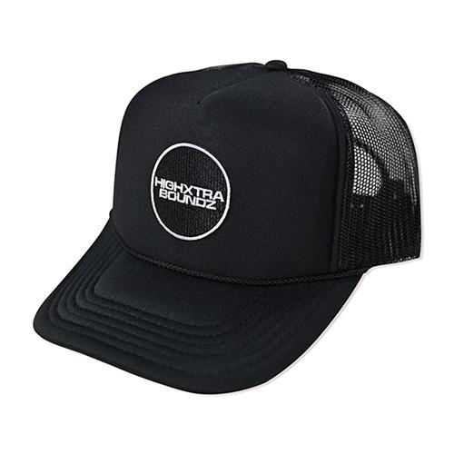 HXB MESH CAP 【THE CIRCLE】 BLACK