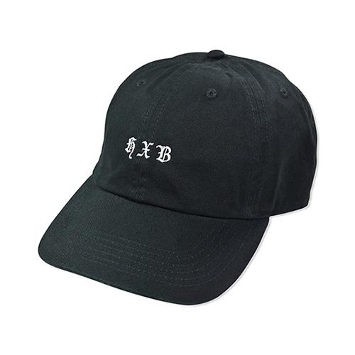 HXB COTTON CAP 【Blackletter】 BLACK