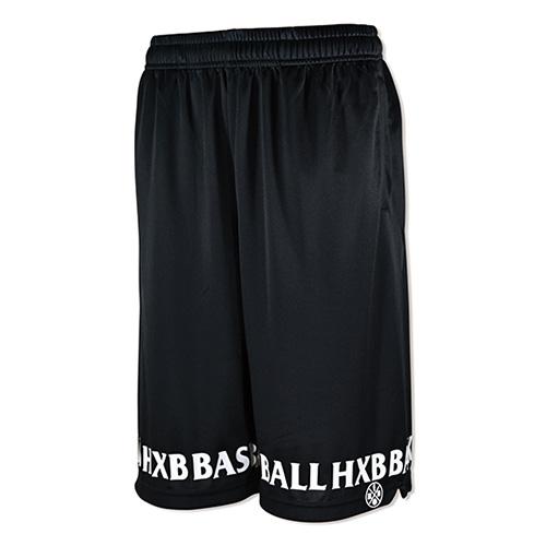 HXB EASY MESH PANTS 【FRIZ】 BLACK/BLACK