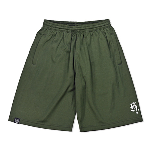 HXB DRY MESH PANTS 【Blackletter】 ARMY GREEN×REF