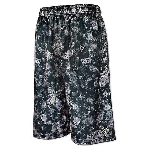 HXB Graphic Mesh Pants 【GRANITE STONE】