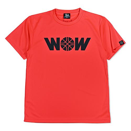 ドライTEE 【WOW】 HXB X WOWコラボ NEON ORANGE (蛍光オレンジ)