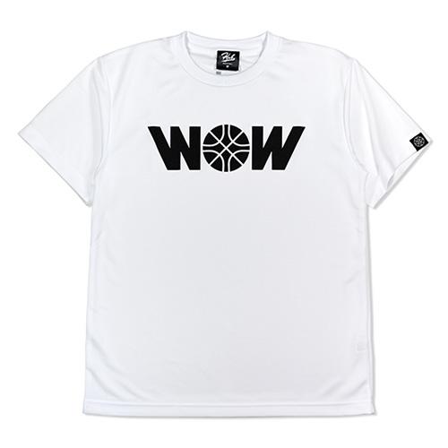 HXB ドライTEE 【WOW】 WHITE