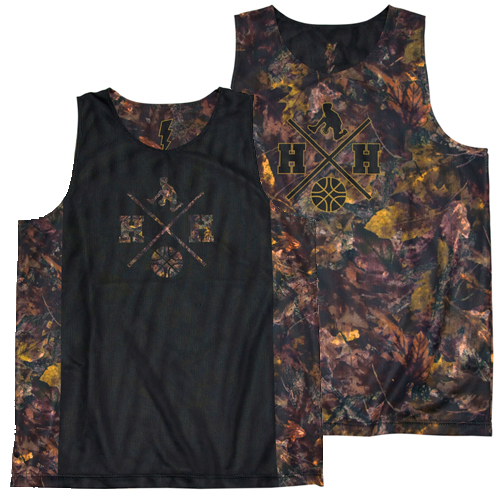 HXB × HITH Reversible Mesh Tank【BROWN WITHERED】