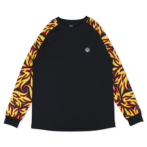 HXB Graphic Raglan Long Sleeve 【LUDSCHI】Fire Zoom