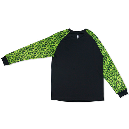 HXB Graphic Raglan Long Sleeve 【LUDSCHI】Grass Wide