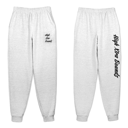 HXB SWEAT PANTS 【Calligraphy】 GRAY