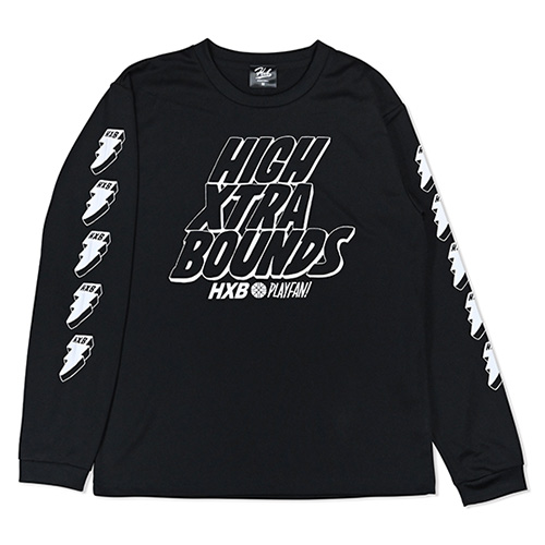 HXB×RAGELOW DRY L.S.TEE 【HIGH XTRA BOUNDS】 BLK