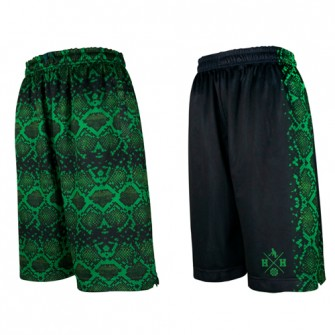 HXB × HITH Reversible Mesh Pants 【GREEN COBRA】