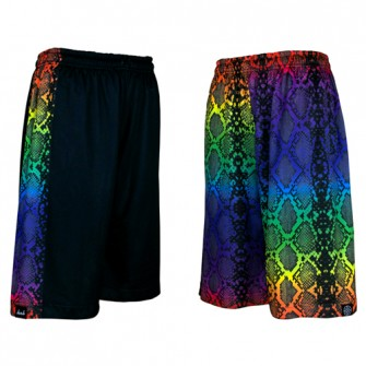 HXB 【REVERSIBLE MESH PANTS】 RAINBOW MAMBA