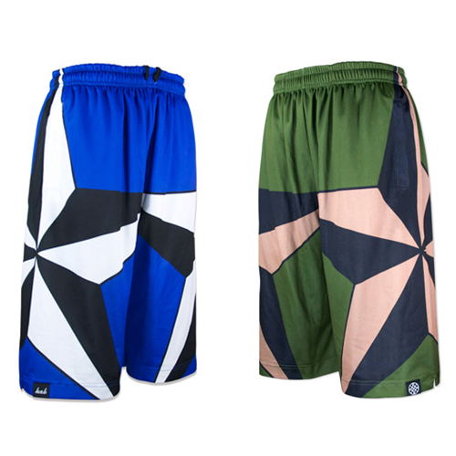 HXB Reversible Mesh Pants 【TRAD STAR】
